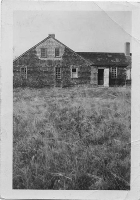 East side of farmhouse, unknown date