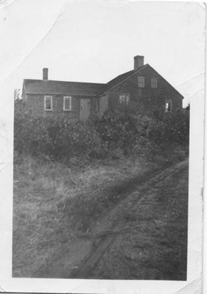West side of farmhouse, unknown date