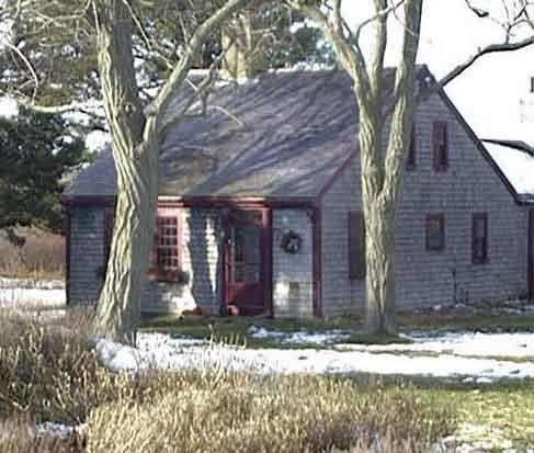 Farmhouse before restoration